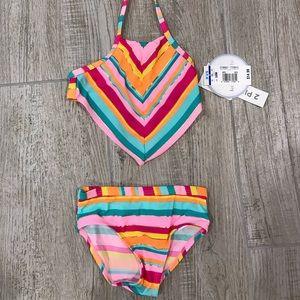 Baby girl two piece swim
